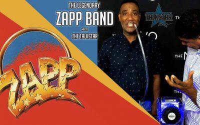 The legendary Zapp Band meets the TalkStar!