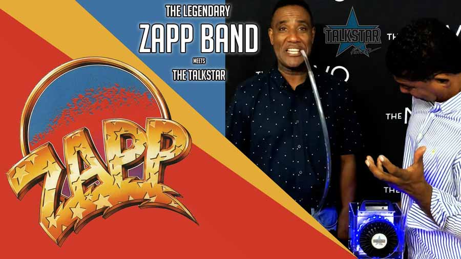 The legendary Zapp Band meets the TalkStar!